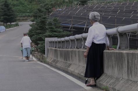 和奶奶的最后一面