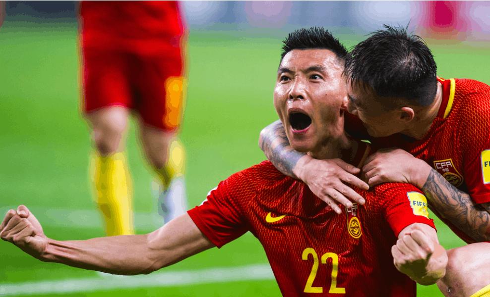 世预赛:中国1-0韩国取首胜 于大宝破门