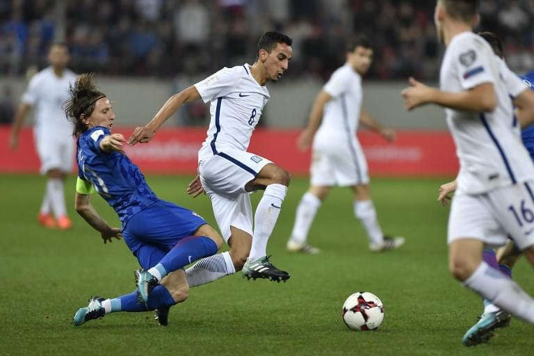 附加赛-佩里西奇中柱 克罗地亚总分4-1进世界杯