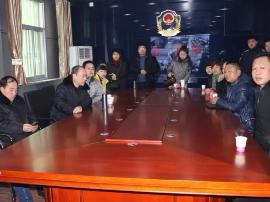 永济市食药监局组织人员到临猗县观摩