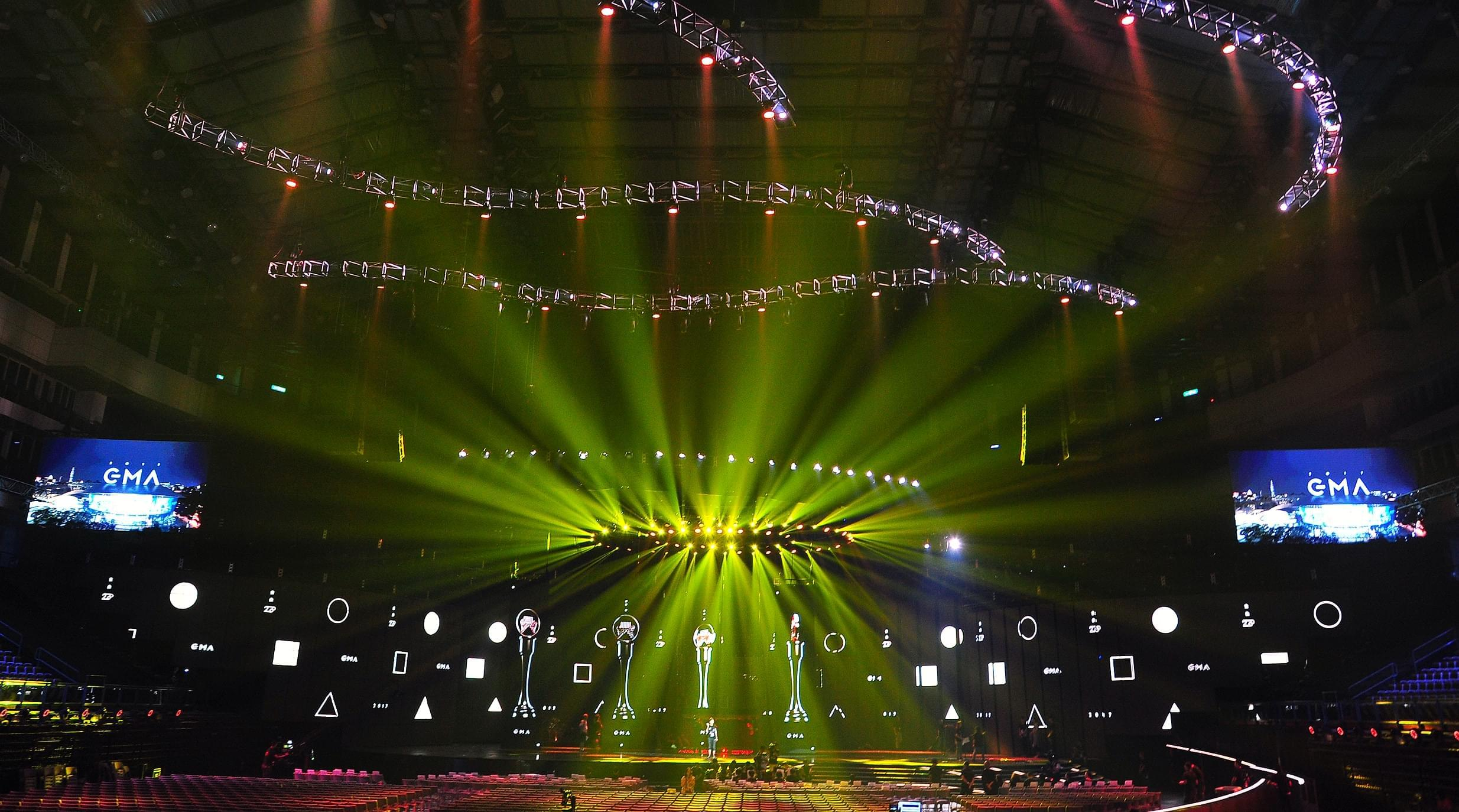 金曲巨型舞台视觉超过百米创下小巨蛋舞台纪录