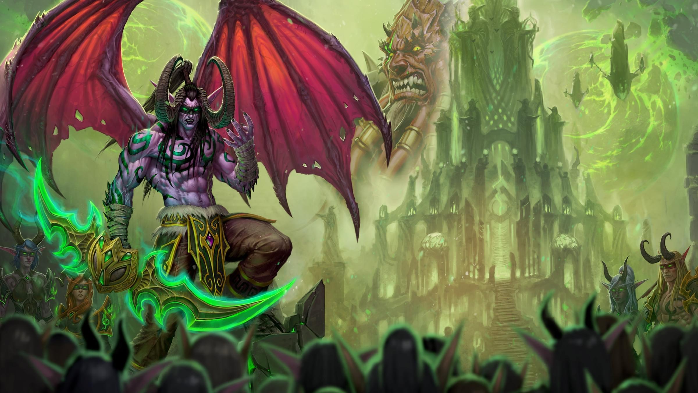 魔兽世界7.2.5:萨格拉斯之墓史诗和随机难度开放