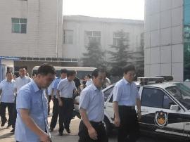 运城市委常委、政法委书记邓雁平赴临猗调研