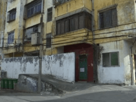 人民广场地下停车场施工致使房屋现裂痕