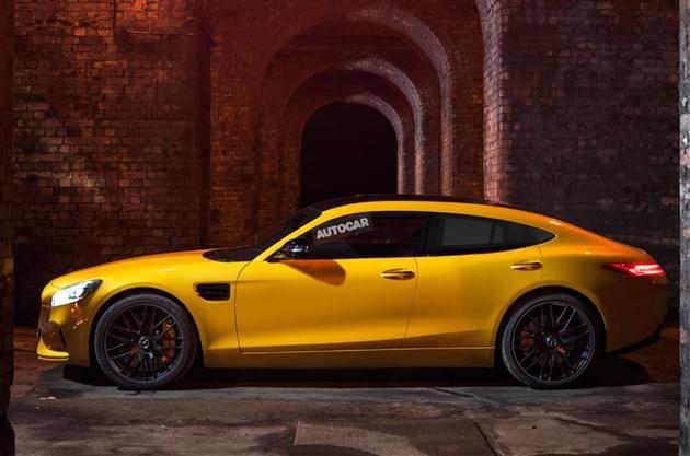 四门掀背车 AMG GT4概念车或日内瓦首发