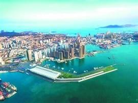2020年青岛建成东北亚区域性国际邮轮母港