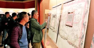 山西博物院89件壁画文物在上海展出