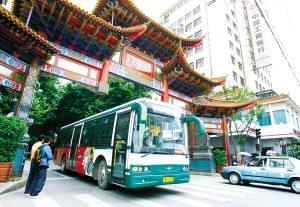 昆明每天有275万人次选乘公交、地铁出行