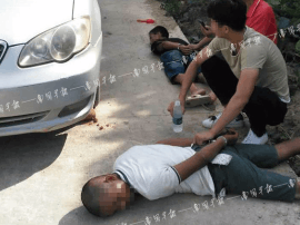 广西灵山县多起摩托车被盗案件告破 嫌犯携带枪支