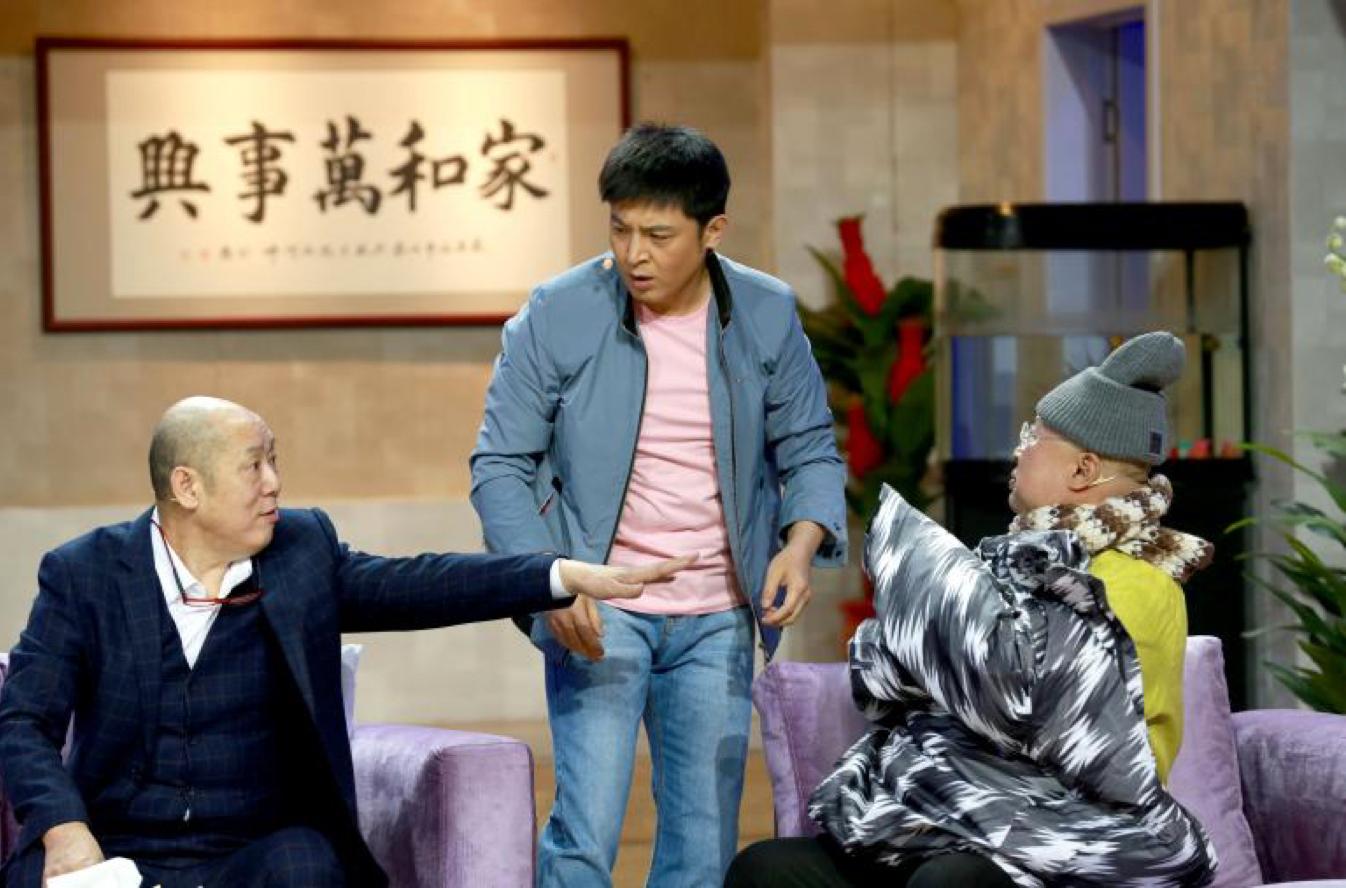 """《欢乐饭米粒儿》孙涛公平对待两个""""爹"""""""