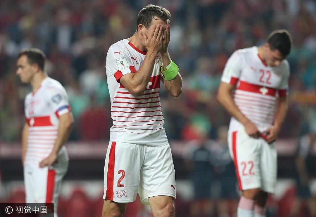 倒霉!瑞士10战9胜仍要踢附加赛 战绩超5个小组第一