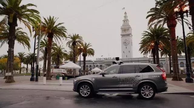 Uber提议城区内禁止私人使用自动驾驶汽车