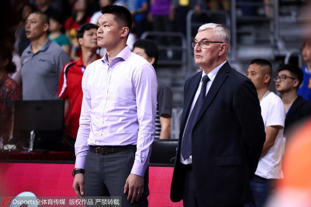 朱芳雨:给自己打85分 广东进前四成绩已经很理想
