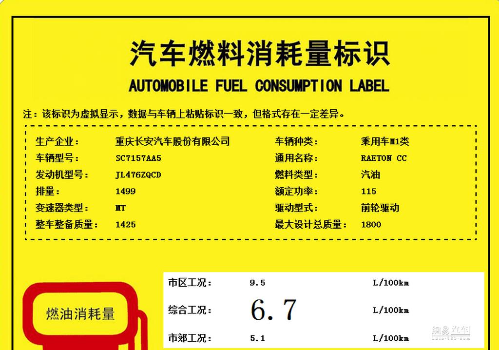 将于年底上市 长安睿骋CC搭1.5T发动机