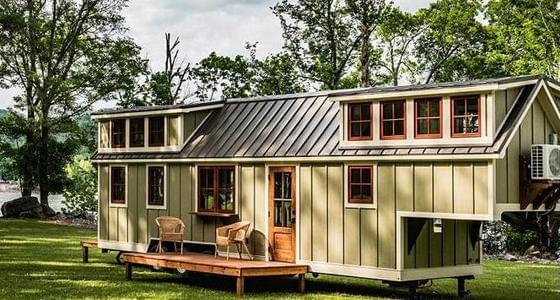 美国30平米小木屋卖60万元