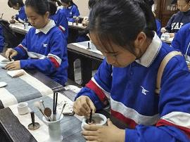 雅礼实验中学学子体验香道:愿传播非物质文化遗产