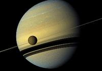 """彼此相伴13年,卡西尼号坠毁前""""吻别""""土卫六"""