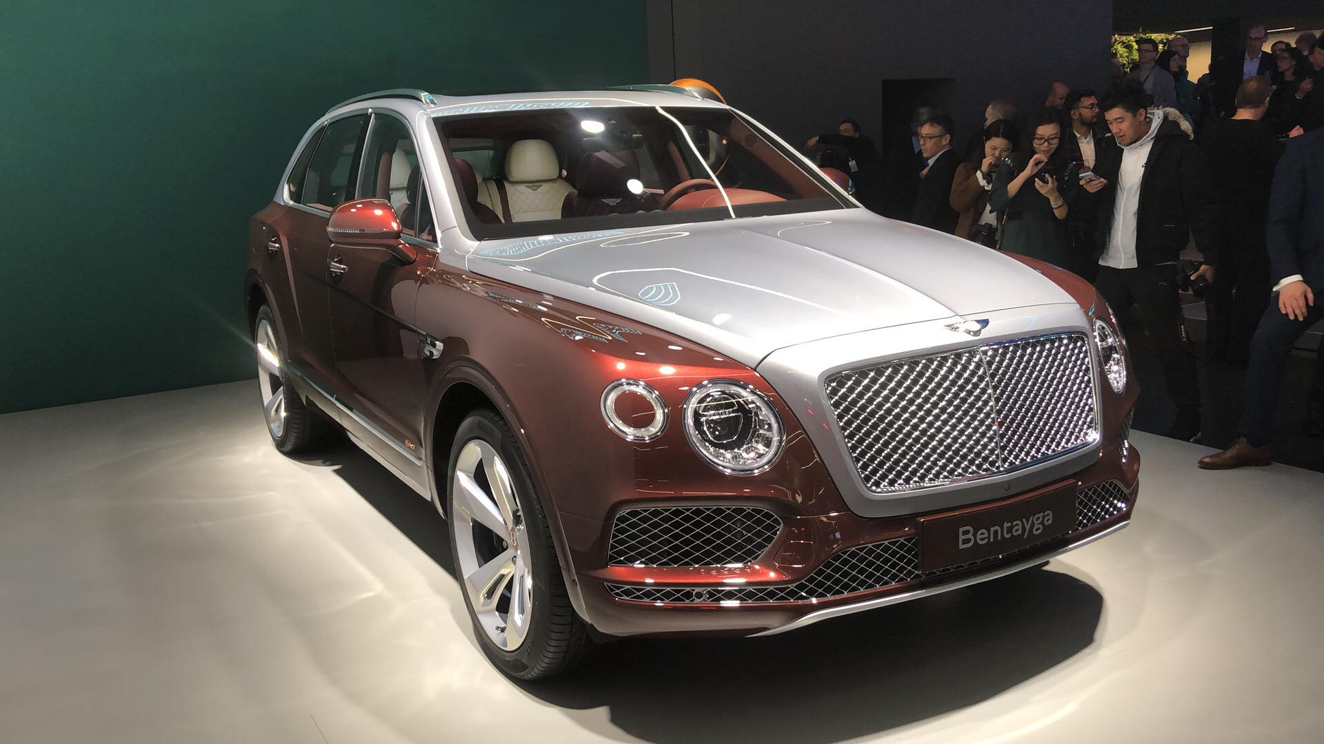 新车上市 宾利添越PHEV将于2019年上半年国内上市