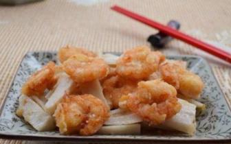 虾藕拼盘 补肾壮阳