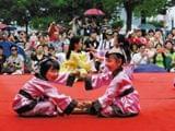 庆安会馆百名小朋友穿上汉服 可与公主裙媲美