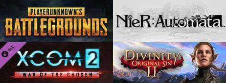 Steam一周销量排行榜绝地求生大逃杀二十六连冠