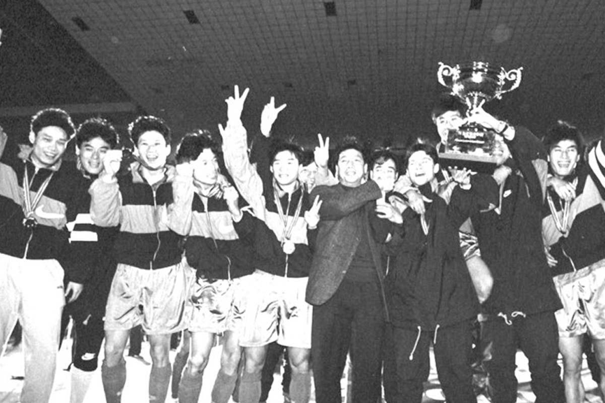 1995年,申花夺得甲A冠军
