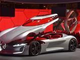 2016巴黎车展:配无人驾驶技术 雷诺TREZOR概念车发布