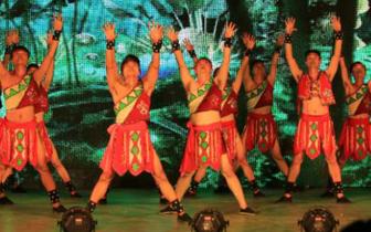 黎族苗族特色文艺演出在琼中举行