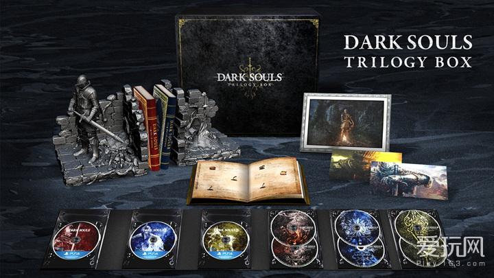 史上最强豪华版?PS4将出黑暗之魂三部曲合集