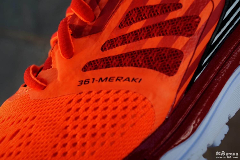 361°国际线MERAKI跑鞋:缓震+速度