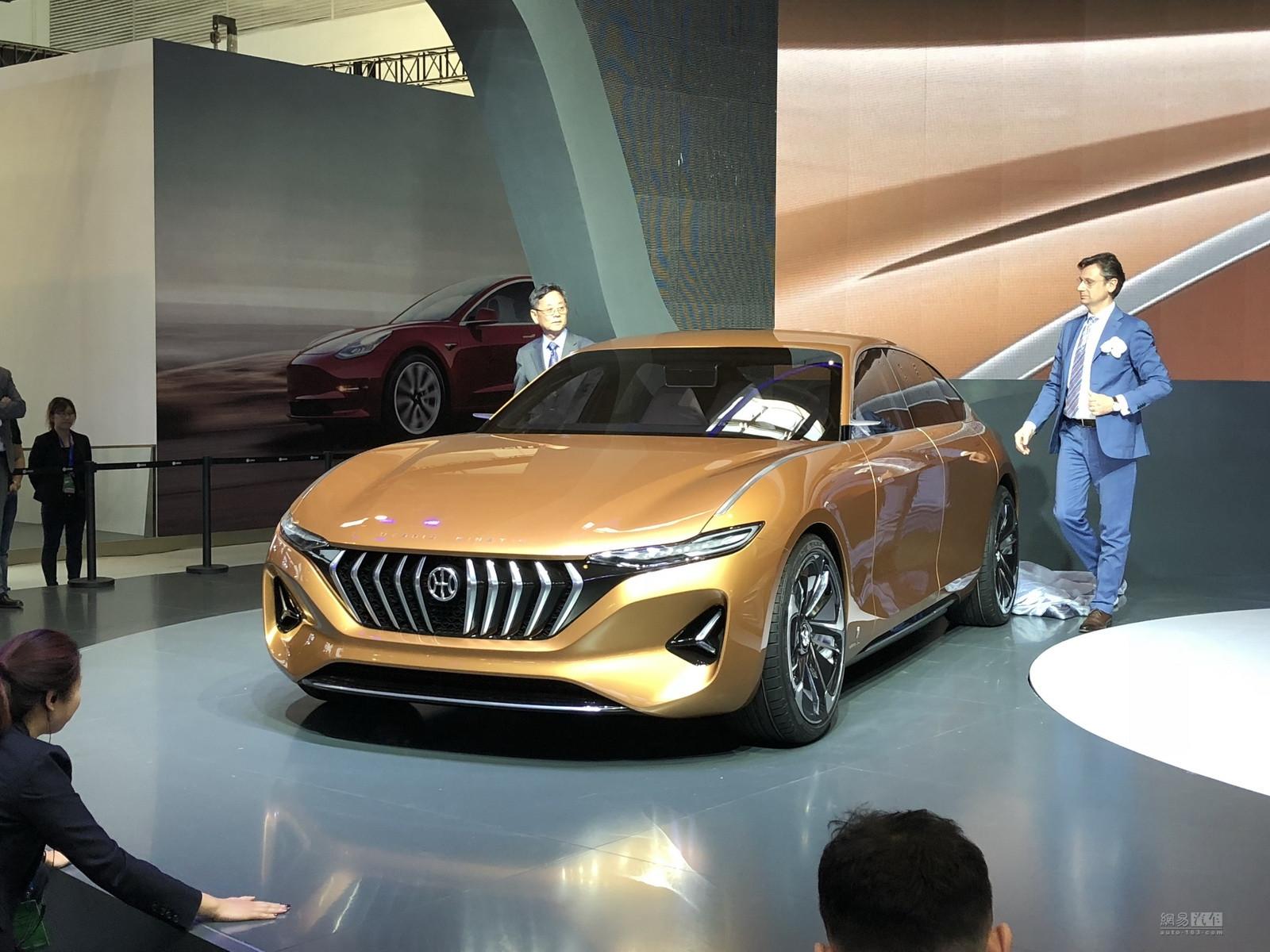 GT概念车/K500/H350 正道三款新车亮相