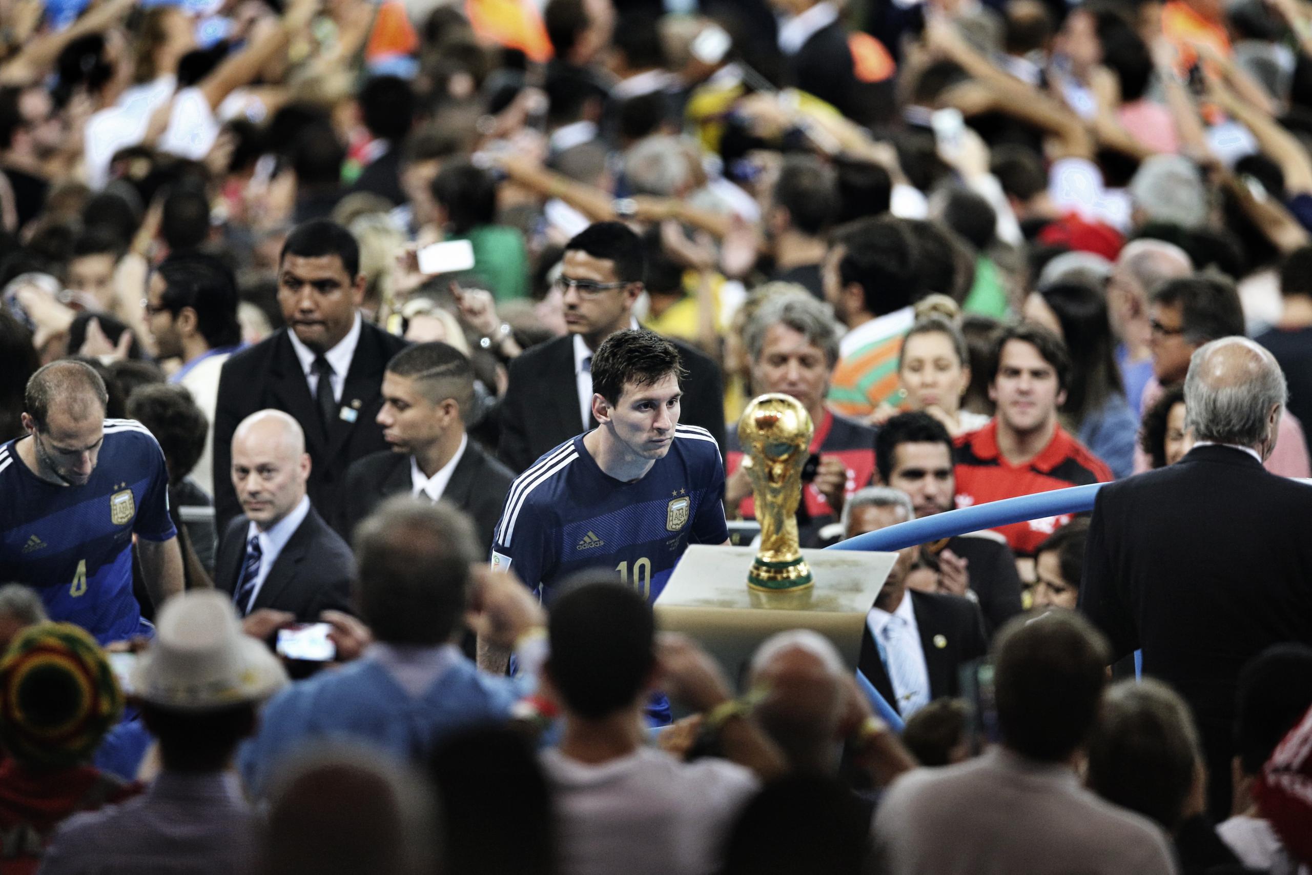 梅西:世界杯不成功则成仁 为曾退出国家队而羞愧