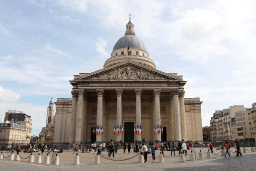 法国巴黎先贤祠广场(摄影:周成刚)
