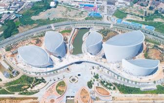 福州海峡文化艺术中心计划7月底基本建成