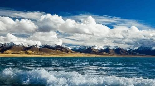 天上的星星 西藏的湖