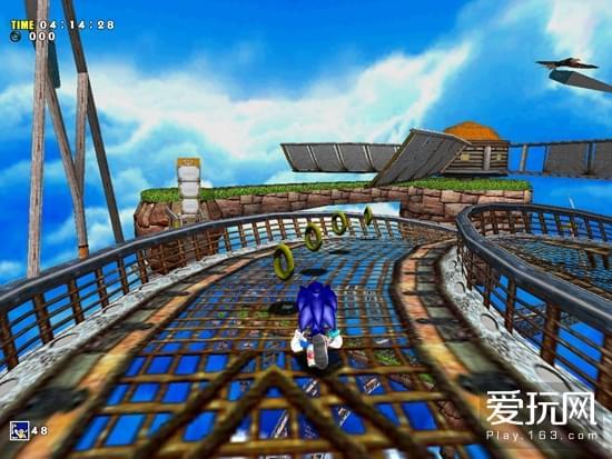 游戏史上的今天:立体高速体验《索尼克大冒险》