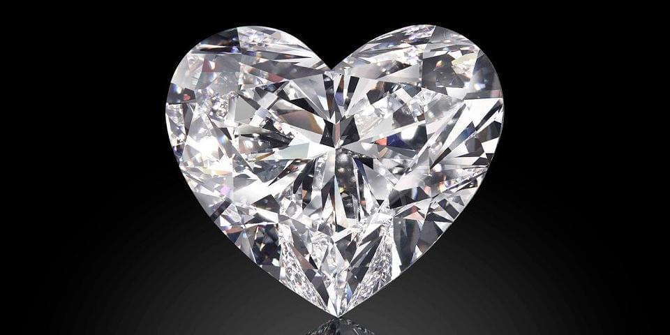拍卖 | 世界最大心形钻石将拍卖 重92克拉估价达