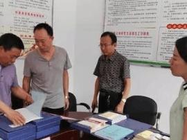 运城市商务局到闻喜礼元镇杏花村帮助指导扶贫工作