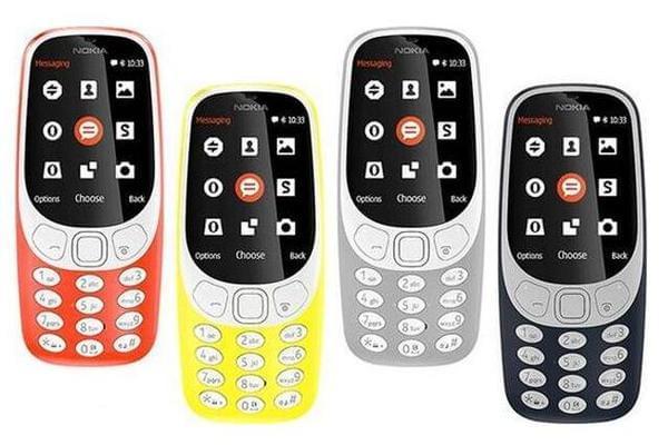 国行诺基亚3310通过工信部认证