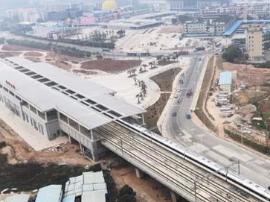试乘莞惠城轨后 洪梅市民很这个站也马上开通