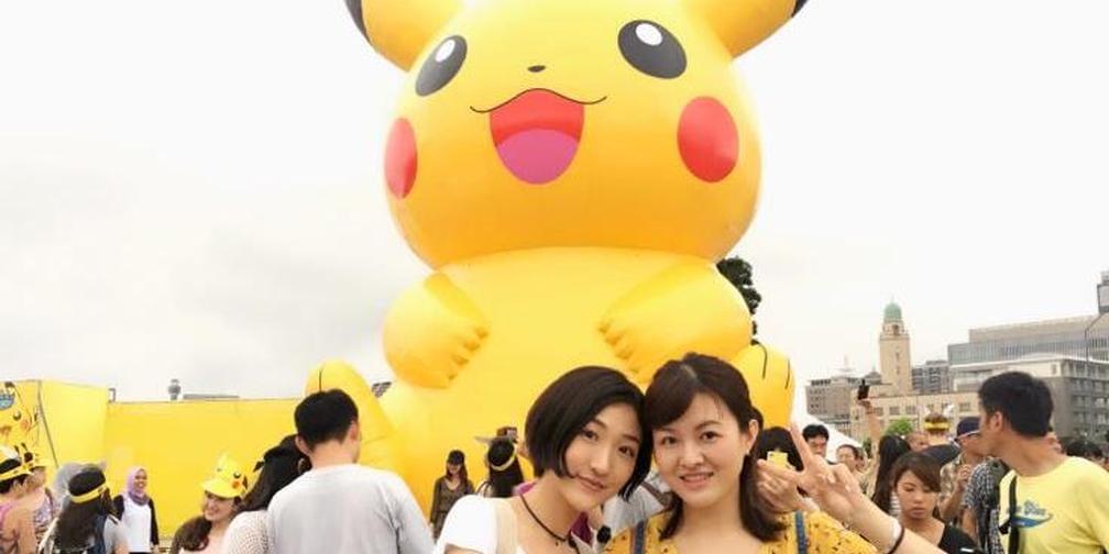 日本夏日祭第二弹:皮卡丘大量发生中!