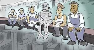 """AI取代工作的焦虑:我们进入了""""技术失业""""时代"""
