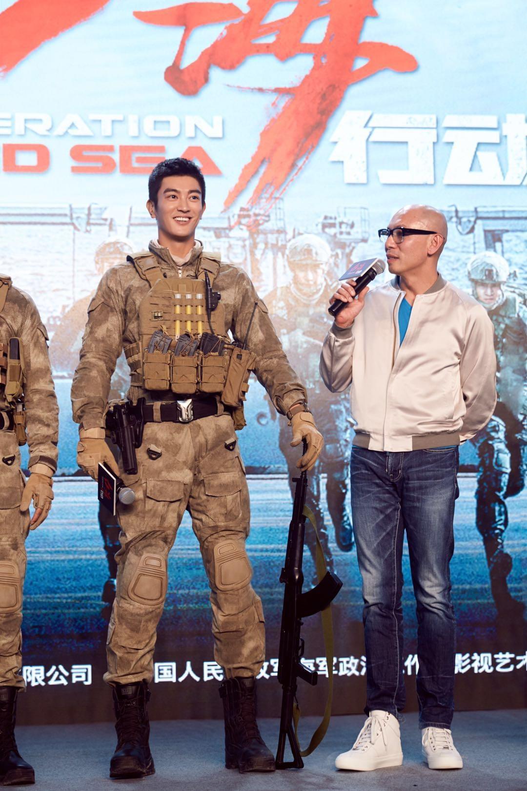 《红海行动》发布会 杜江:林超贤教会我电影不易