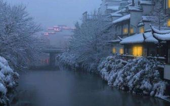 降雪之后 这些城市犹如穿越回千年