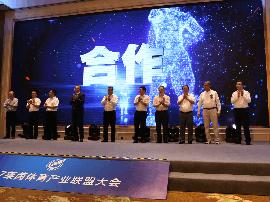 2017莱茵体育产业联盟大会在杭举行 浙江首支女子冰球、冰壶