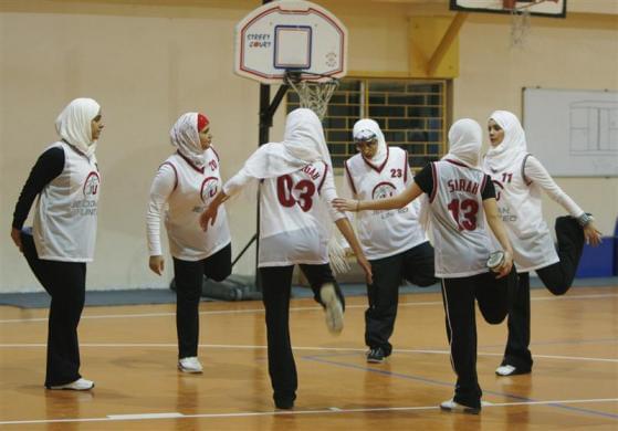 沙特女篮球运动员