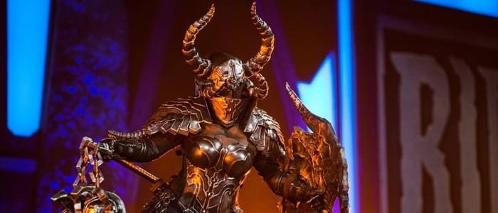 暗黑3精美COS大赏:超高还原的毁灭圣教军