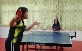 这所小学有9名学生代表东莞参加省运会乒乓球比赛