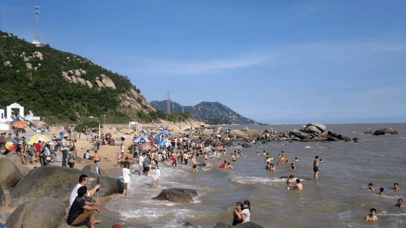 台山赤溪大浪湾为非正规海浴场群众不能贸然下海游泳