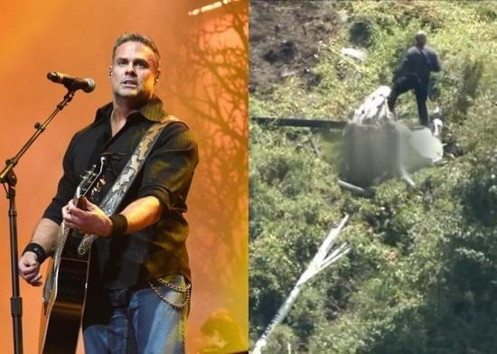 美国歌手乘坐直升机时遇意外不幸去世